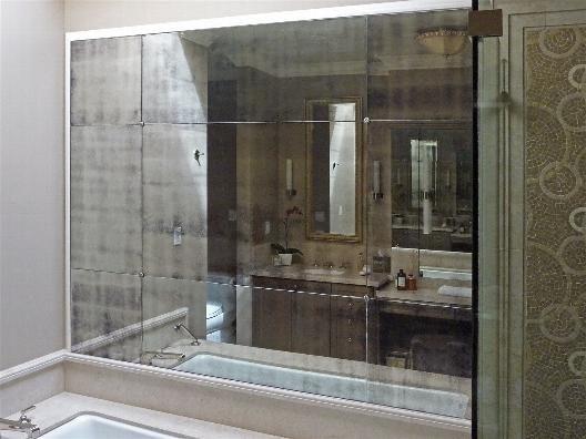 Antique Mirror Tile Supplier Bathroom Pinterest