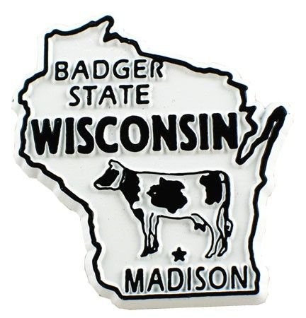 MGI Companies, Inc. - Wisconsin State Magnet, $1.49 (http://www.internationalgiftitems.com/wisconsin-state-magnet/)