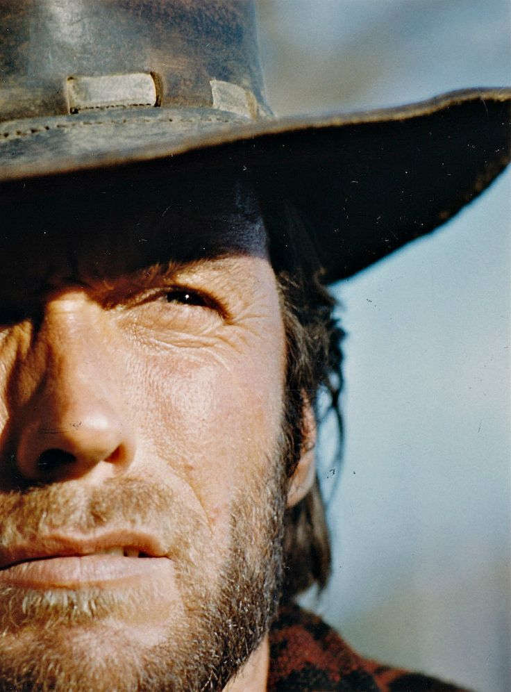 """""""I never considered myself a cowboy, because I wasn't. But I guess when I got into cowboy gear I looked enough like one…"""" Eastwood"""