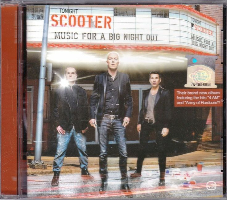 SCOOTER Music For A Big Night Out + Bonus Tracks Extended Mix Singapore Edition