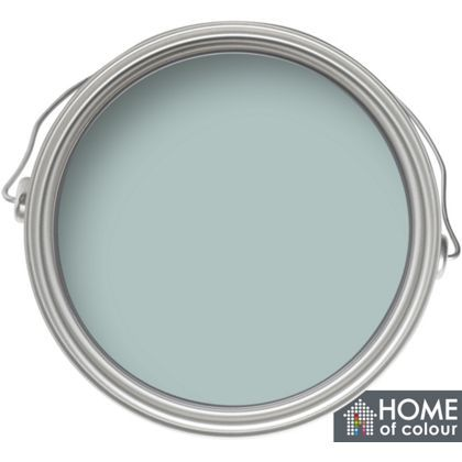 Home of Colour Duck Egg - Matt Emulsion Paint - 5L at Homebase -- Be inspired and make your house a home. Buy now.
