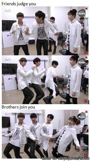 Remember when we thought suga was the normal mature member that judged his dongsengs | allkpop Meme Center