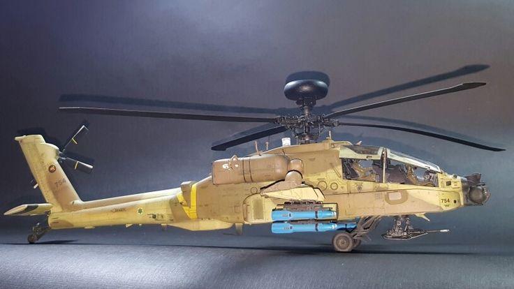 AH-64D Apache longbow 1/48