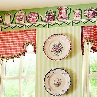 retro kitchen wallpaper borders for your kitchen take a look at - Kitchen Borders Ideas