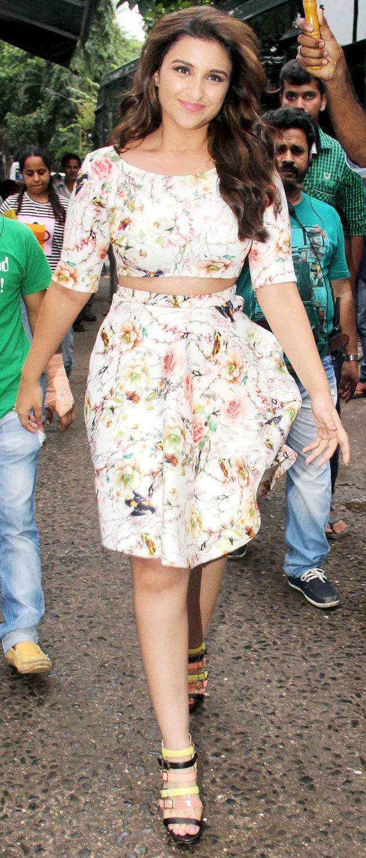 Parineeti Chopra arriving on the sets of 'Jhalak Dikhhla Jaa'.