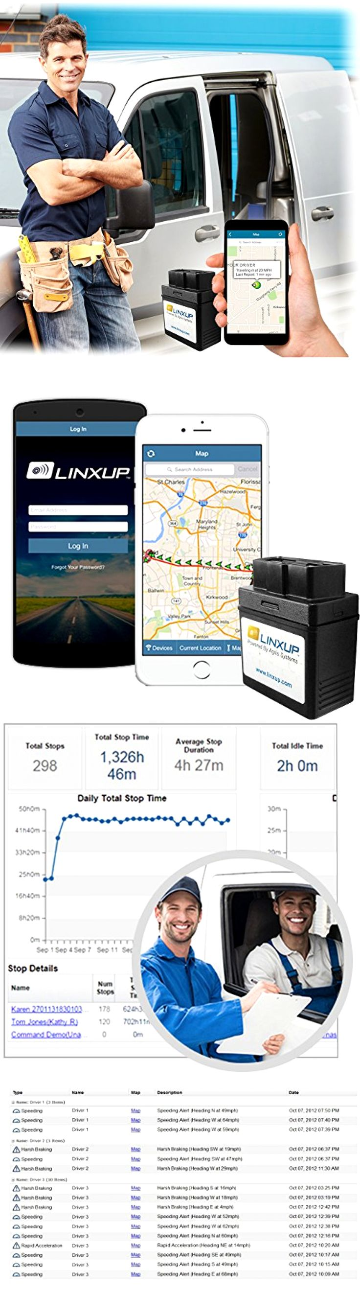Tracking Devices: Gps Tracking System Device Car Locator With Real Time 3G Obd Linxup No Contracts -> BUY IT NOW ONLY: $32.99 on eBay!