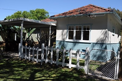 Fibro and weatherboard beach cottage.  Northern Beaches, NSW, Australia