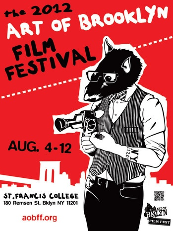 2012 Art of Brooklyn Film Festival (poster).