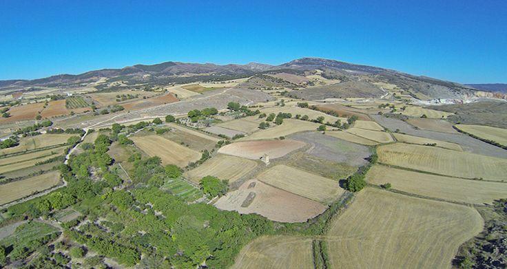 Fotografía Aérea de la Sierra de Cucalón