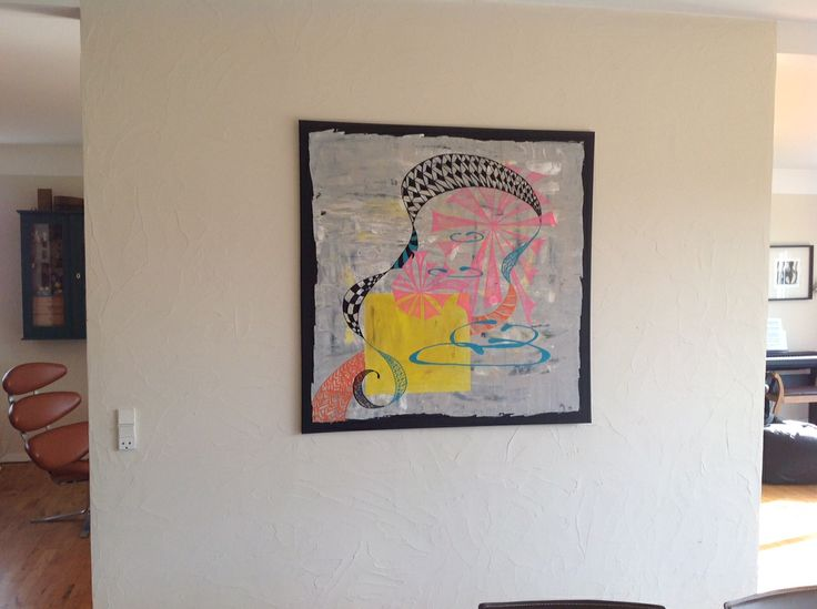 arl, 100x100cm Zen pink