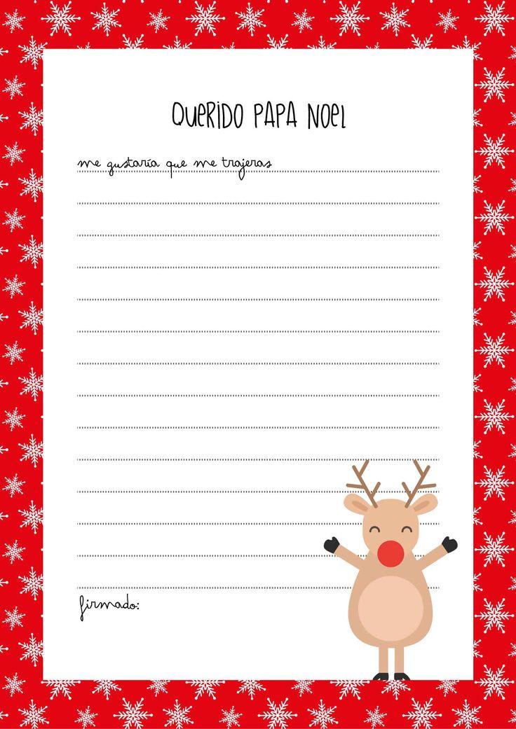 #carta #navidad #regalos #papanoel