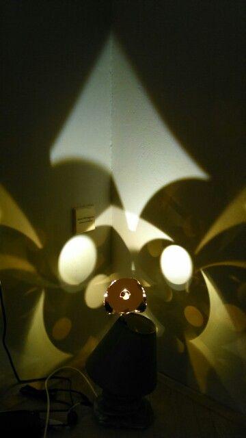 Pracuji na další lampičce, tahle bude luxusní