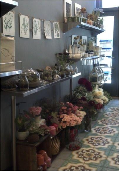 prettie-sweet: flower shop  Polux Fleuriste * New York