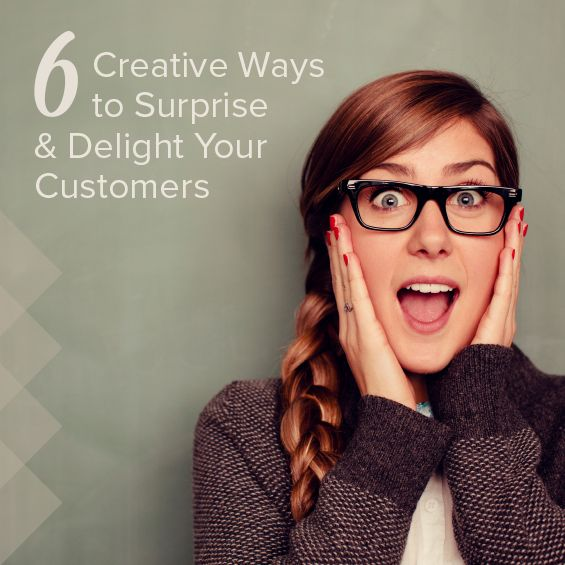 On the Shopify Blog: 6 Creative Ways to Surprise And Delight Your Customers #retail #commerce #sales