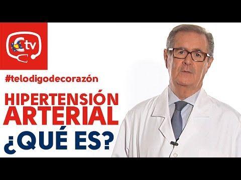 ¿Qué es la hipertensión arterial?    Vídeos   MedicinaTV