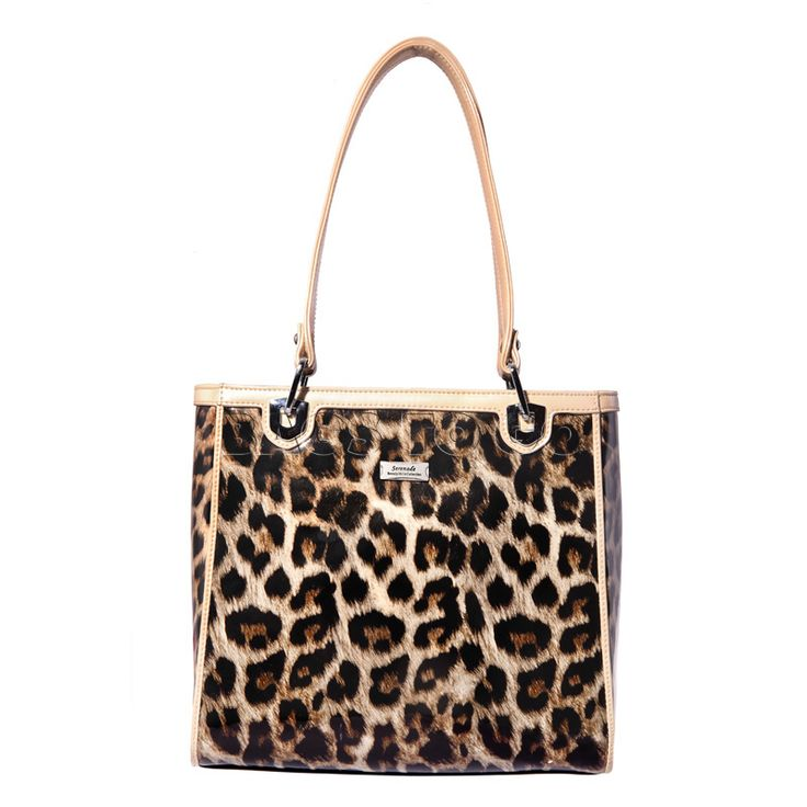 Serenade animal print handbag -Beverley Hills Collection