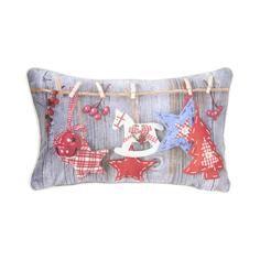 Xmas Decoration Printed Cushion #DunelmPinterWonderland #Christmas #Comp #Win #Dunelm