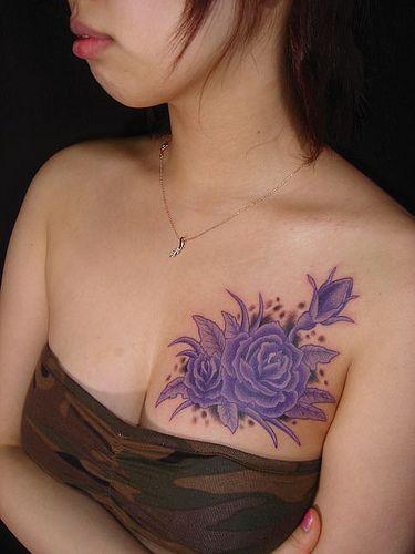 Purple Rose Tattoo2