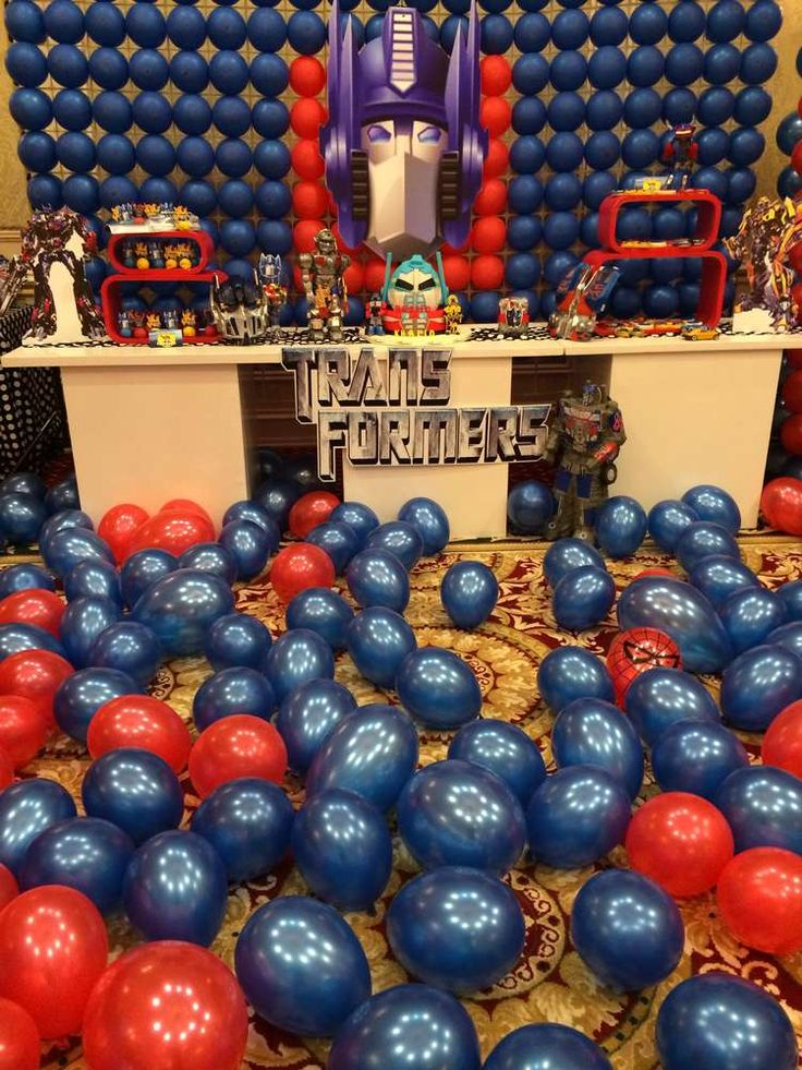 Transformers Birthday Party Ideas   Photo 36 of 45   Catch My Party