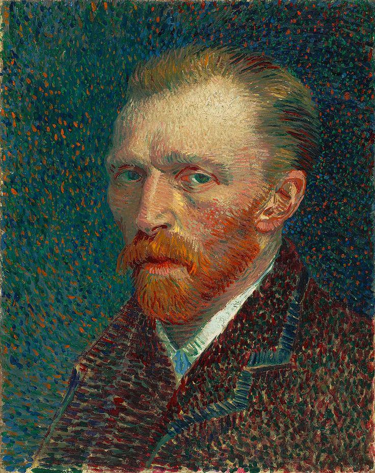 VanGogh 1887 Selbstbildnis - Pointillism - Wikipedia, the free encyclopedia