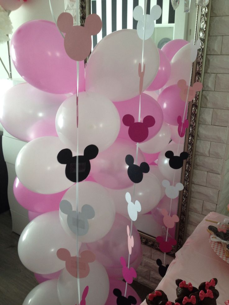 Minnie Maus Party Deko