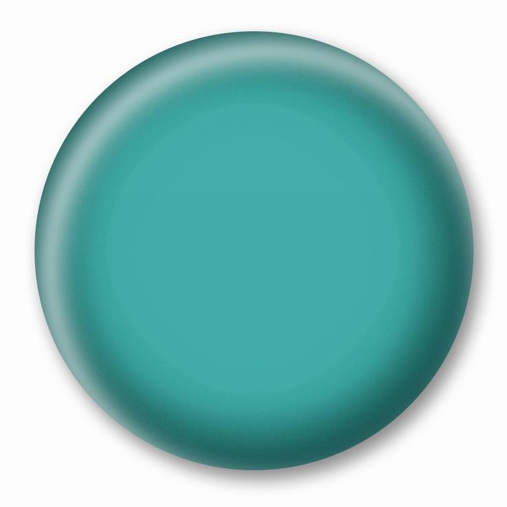 Use Benjamin Moore Palm Coast Teal in this aqua living room!