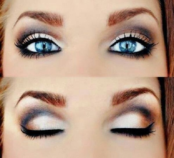 I have beautiful blue eyes as blue as the sky and deep as the ocean. I consider them my best feature.