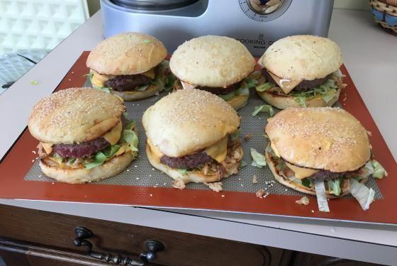 Burgers   Cooking Chef de KENWOOD - Espace recettes