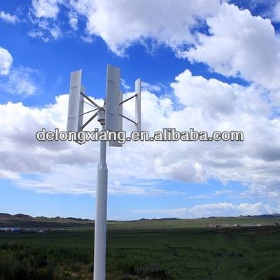 Vertical axis wind powered generator resources post. VAWT have a lot of upsides compared with classic wind generators and are increasing in popularity among homeowners. http://netzeroguide.com/vawt.html
