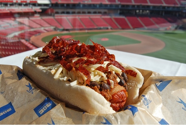 Meat Lover's Hot Dog — Great American Ballpark, Cincinnati Reds