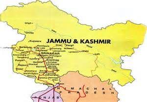 Jammu and Kashmir map - Bing Images