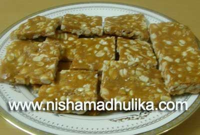 how to make groundnut candy