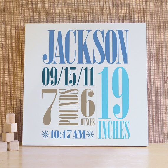 18 best baby canvas gift images on pinterest baby canvas baby personalized baby art kids wall art wall decor for by trendypeas 7900 negle Choice Image