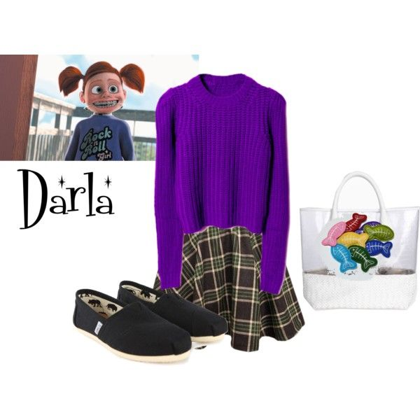Darla from Finding Nemo - Polyvore