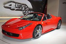 Ferrari 458 - Wikipedia, the free encyclopedia
