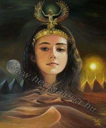 Isis/ Ízisz, #art painting