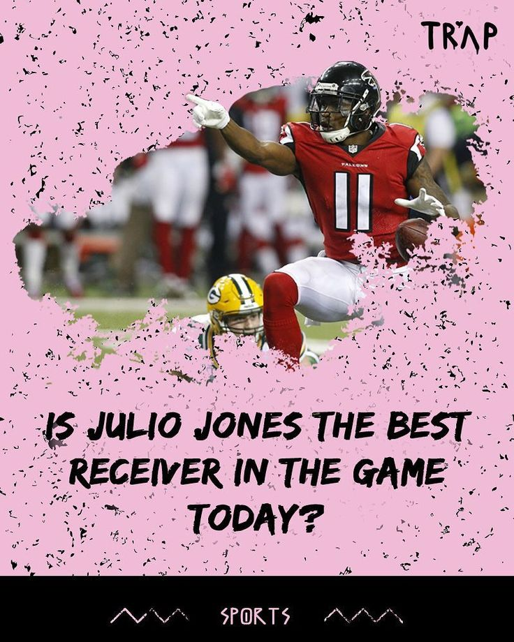 Is #JulioJones the best receiver in the the #NFL today?  #atlantafalcons #falconsfans #atl #antioniobrown #steelers #nfl #playoffs #nfc #nfcsouth #sports #football #powerranking #pigskin #ncaaf #alabama #crimsontide #thetide #mattryan #sanu #touchdown #nfl2017 #nflmemes #nflleader #juliojones #rogergodell #ajgreen #bengals
