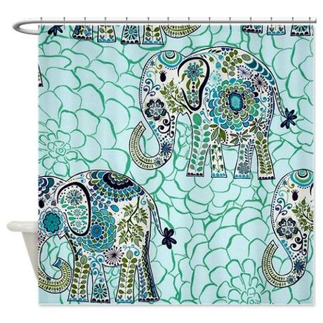 die besten 25 elefanten duschvorh nge ideen auf pinterest saubere duschvorh nge marineblauer. Black Bedroom Furniture Sets. Home Design Ideas