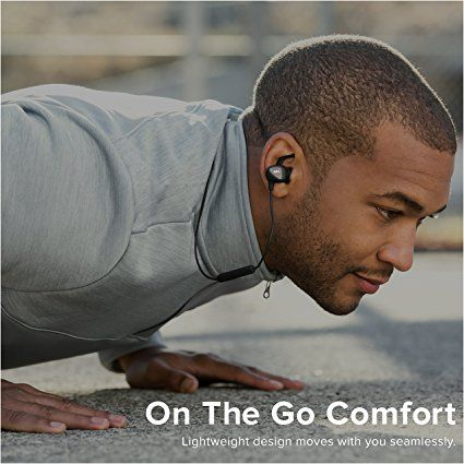 Amazon.com: RIF6 Eargo Running Bluetooth Wireless Earbuds and In Ear Sports Headphones with Mic - No Slip Ear Grip - Sweat Proof - Sound Isolating - Best Workout Cordless in-ear Headphones for iPhone & Android: Computers & Accessories