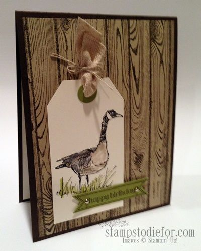 Wetlands stampin up stamp set