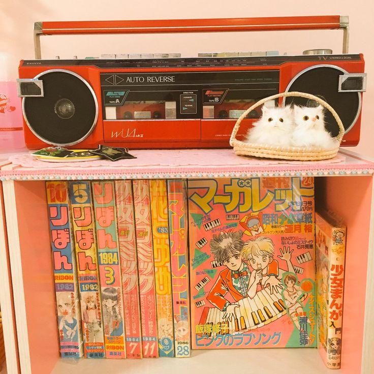 80sガーリーコレクション Kitsch Decor Japan Room Otaku Room