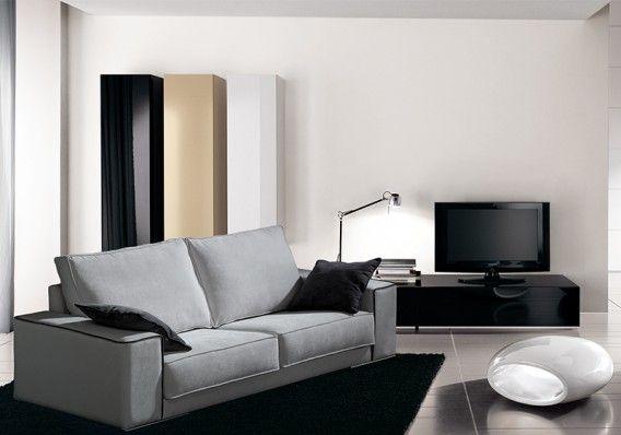 Confortable y moderno #sofá de 202 cm. / Confortable i modern #sofà de 202 cm.