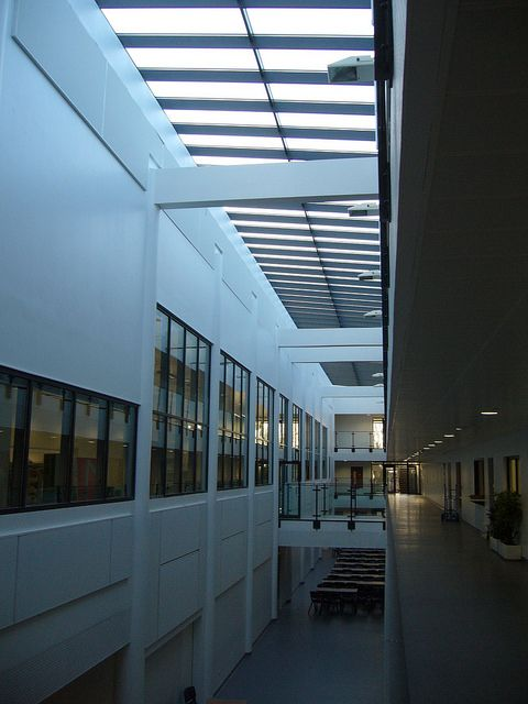 Forest Hill School, London  Rooflights by Duplus Architectural Glazing Ltd. Please visit our website www.duplus.co.uk or call 0116 2610 710 for information
