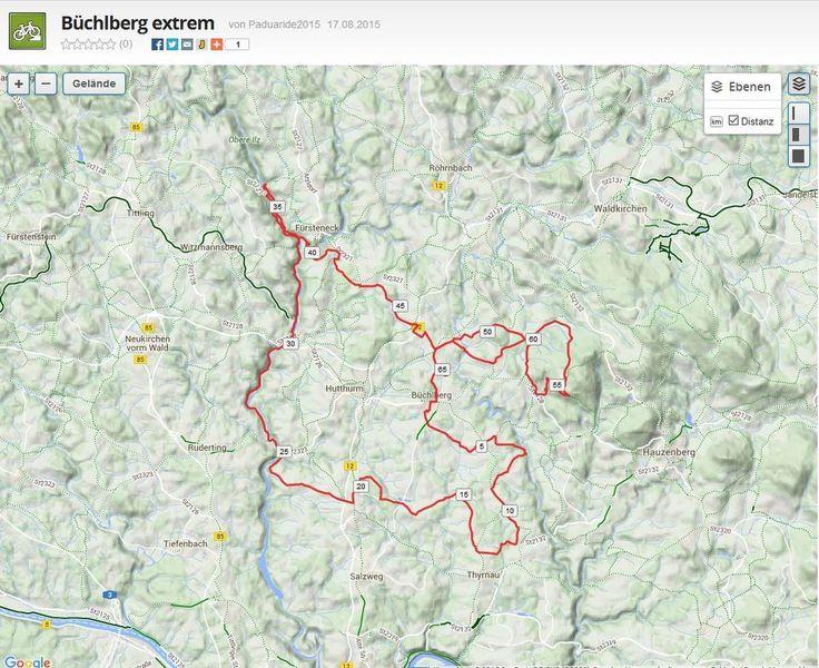 Ski- und Biketouren: Büchlberg extrem