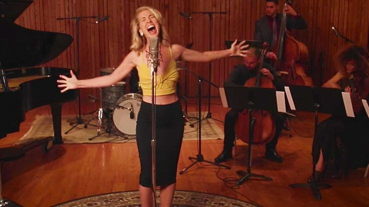 "Woman Reworks Aerosmith's ""Dream On"" Into A Classic Jazz Tune, And It's Guaranteed To Give You Chills!"
