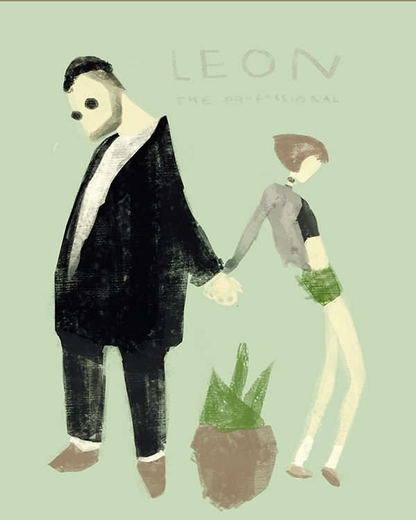 LE on Behance leon the professional poster