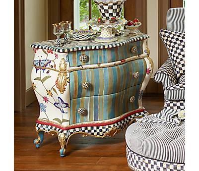 Whatu0027s Not To *love* About McKenzie Childs? Bold, Bright, Original,.  Children FurnitureFurniture IdeasFunky FurnitureEclectic FurnitureHand  Painted ...