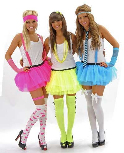 80 S Style Dress Up Party Plus Size Masquerade Dresses