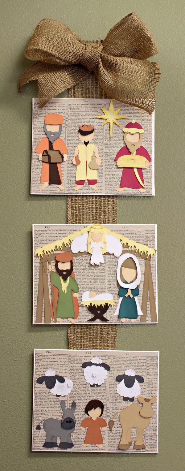 Puzzles :: Colecciones :: Puzzles corte Cortar Colección :: Lejos en una colección de corte del Pesebre