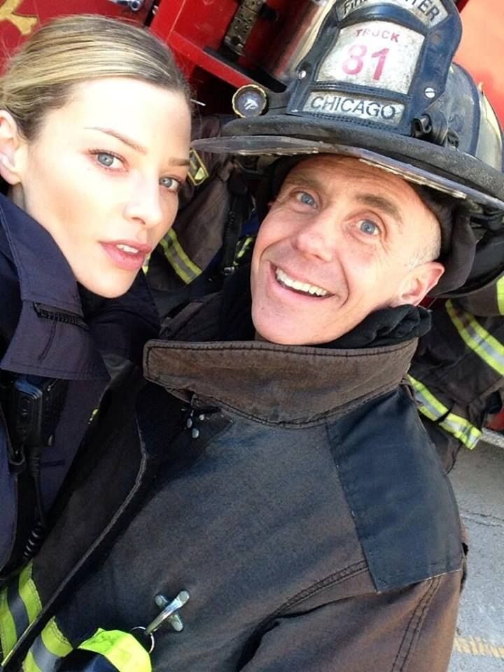 Chicago Fire: Shay chillin' with Herrmann | Shared by LION